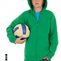 Hanorace promotionale de copii, colorate, din bumbac 80% - Hooded Full Zip Kids WK682