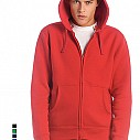 Hanorace promotionale barbatesti, colorate, din bumbac 80% - Hooded Full Zip Men WM647